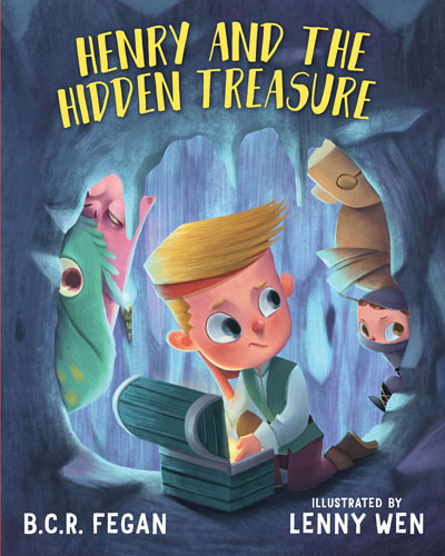 Henry and the Hidden Treasure Cover
